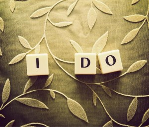"Saying ""I Do"""