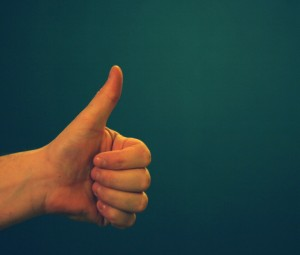 The Upright Thumb